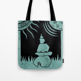 Relaxation (Black) Tote Bag