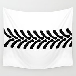 Tractor Tyre Tread Marks Wall Tapestry