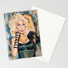 Lady singer  Stationery Cards