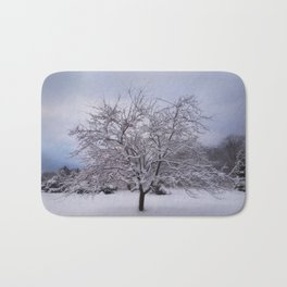 Winter Tree Bath Mat