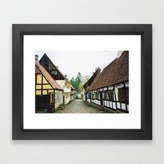 Den Gamle By, Århus Framed Art Print