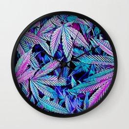 Cannabis Jewels Wall Clock