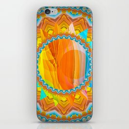 Moon and Sun Mandala Design iPhone Skin