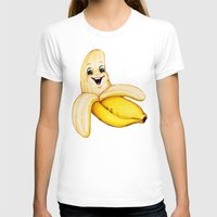banana T-shirts featuring Banana by Kelly Gilleran