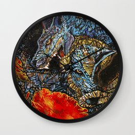 Demise of Pack Mentality Wall Clock