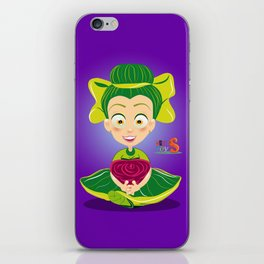 Mariette/Character & Art Toy design for fun iPhone Skin