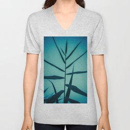 Reach to the Sky at Sunset 1 Unisex V-Neck