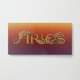 Dracoserific Aries Metal Print