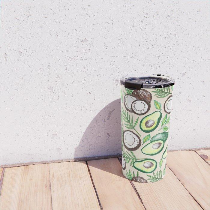 Coconuts & Avocados Travel Mug