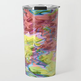 Lost in Thought; Fluid Abstract 56 Travel Mug