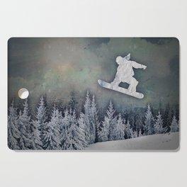 The Snowboarder Cutting Board