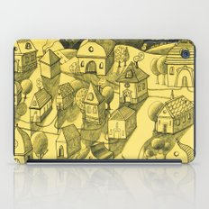 Moonlit Village iPad Case