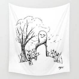 A Windy Day Wall Tapestry