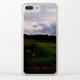 South Maple Street Corn Clear iPhone Case