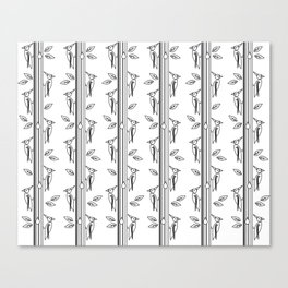 Woodpeckers in the Forest Canvas Print