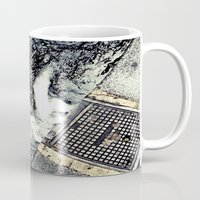 rush Mugs featuring Rush by Paper Possible
