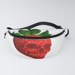 Strawberry Skull Fanny Pack