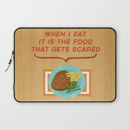 Scary Food Laptop Sleeve