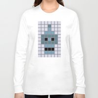 bender Long Sleeve T-shirts featuring Bender Was Here by BC Arts