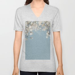 Symphony Blues Unisex V-Neck