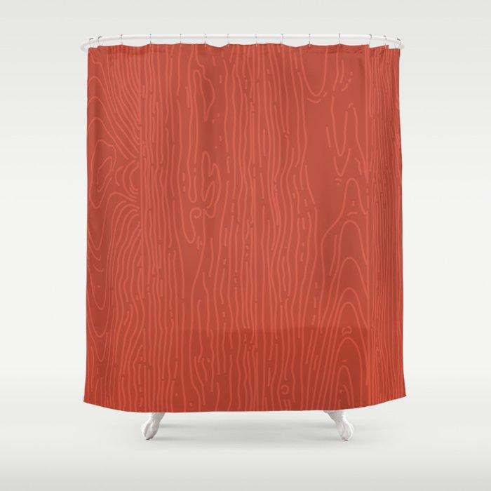 Barnwood Shower Curtain By Zeketucker