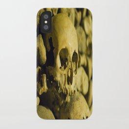 Wall of Bones iPhone Case