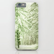 Winter Pine Trees Slim Case iPhone 6s