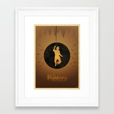 Steven Spielberg's RAIDERS OF THE LOST ARK Framed Art Print