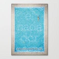 El Nadador Canvas Print