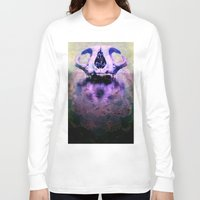 bones Long Sleeve T-shirts featuring BONES by kikkerART
