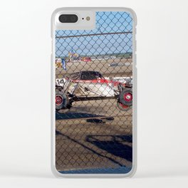 Flying Bug Clear iPhone Case