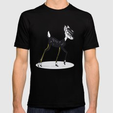 BAMBI Black MEDIUM Mens Fitted Tee