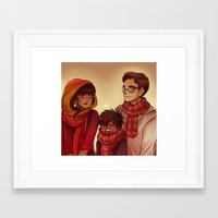 potter Framed Art Prints featuring James Potter by AndytheLemon