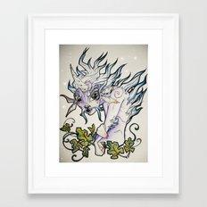 Unicorn Elf Framed Art Print