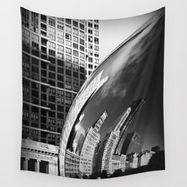 The Bean Reflections Wall Tapestry