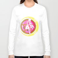 sailormoon Long Sleeve T-shirts featuring In the name of the moon by Juliet García