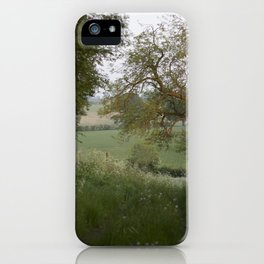 The English Countryside Fine Art Photography iPhone Case