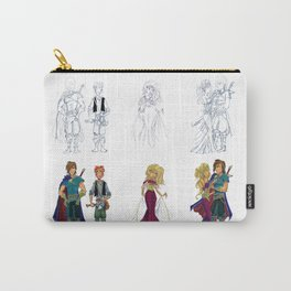Trio Carry-All Pouch