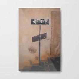 Street Art in Sardinia | Italy Travel Photography | Simple Photo Print Metal Print