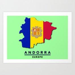 Andorra - Europe Art Print