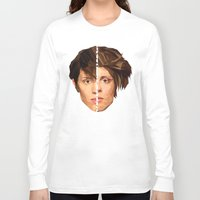 tegan and sara Long Sleeve T-shirts featuring TEGAN AND SARA by MGNFQ