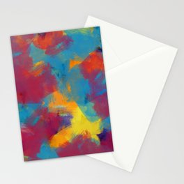 A Tropical Paradise - Abstract Art Stationery Cards