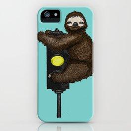 Take it Slow iPhone Case