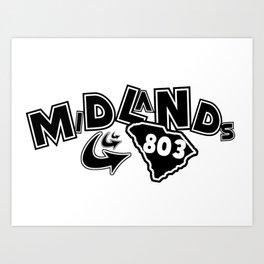 Midlands 803 Art Print