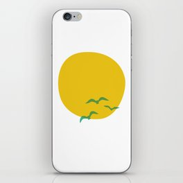 Midsummer Sun iPhone Skin