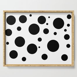 Dots III. Serving Tray