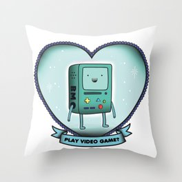 BMO Throw Pillow