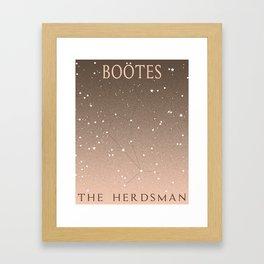 Bootes Framed Art Print