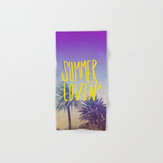Summer Lovin' Hand & Bath Towel