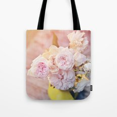 The Last Days of Spring - Old Roses II Tote Bag